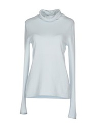 Hemisphere Turtlenecks Sky Blue