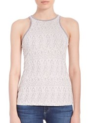 Tart Yani Sleeveless Tank Grey White