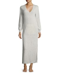 Neiman Marcus Cashmere Lounger Pearl Grey