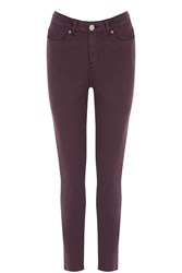 Oasis Lily Jeans Burgundy