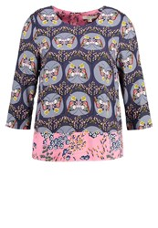 White Stuff Dreaming Butterfly Blouse Multi Multicoloured