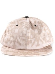Baja East Baseball Cap Nude And Neutrals