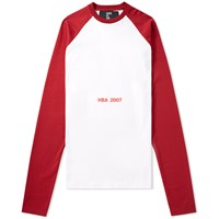 Hood By Air 2007 Overnight Raglan Tee Red