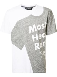 Mostly Heard Rarely Seen 'T Shirt' Print T Shirt White