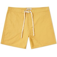 Saturdays Surf Nyc Colin Solid Boardshort Orange