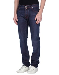 Corneliani Id Denim Pants Blue