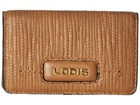 Lodis Cordoba Mini Card Case Toffee Credit Card Wallet Brown