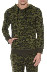 2Xist 2 X Ist Hooded Pullover Olive Camo