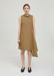 Ter Et Bantine Sleeveless Tassel Belted Dress Camel