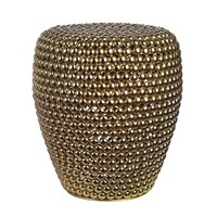 Pols Potten Dot Stool Brass