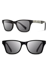 Shwood 'Canby Newspaper' 54Mm Polarized Sunglasses