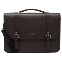 Ted Baker Nevadaa Leather Satchel Chocolate