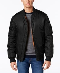 Ben Sherman Men's Bomber Jacket Black