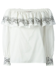 Yves Saint Laurent Vintage Ruffled Top