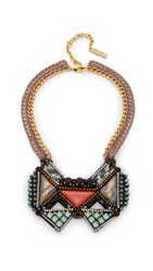 Nocturne Hans Necklace Coral