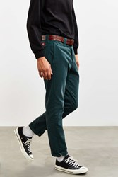 Dickies X Uo Washed Twill Slim Tapered Pant Dark Green