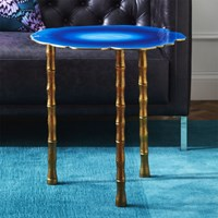 Cb2 Atol Bamboo Bunching Side Table