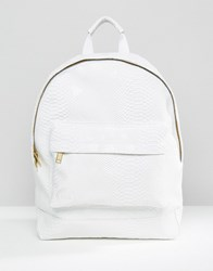 Mi Pac Python Backpack White White