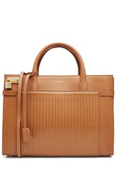 Zadig And Voltaire Leather Tote Camel