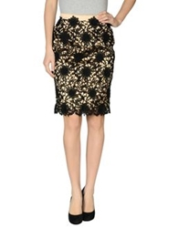 Ivan Montesi Knee Length Skirts Black