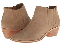 Joie Barlow Cement Suede Women's Pull On Boots Gray