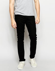 Farah Skinny Jeans In Stretch Black