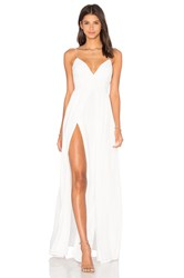The Jetset Diaries Private Beach Maxi Dress Ivory