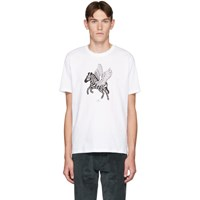Paul Smith Ps By White Pegasus T Shirt