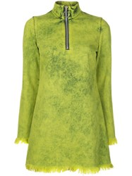 Marques Almeida Marques'almeida Long Sleeve Dress Green