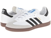 Adidas Samba Leather White Black Classic Shoes