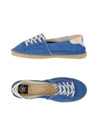 B Sided Footwear Espadrilles Men Pastel Blue