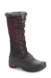The North Face Shellista Iii Tall Waterproof Insulated Winter Boot Fig Weathered Black