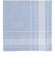 Simonnot Godard Men's Harlan Handkerchief Blue