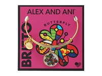 Alex And Ani Romero Britto Art Infusion Butterfly Gold Bracelet