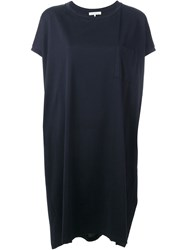 Stefano Mortari T Shirt Dress Blue