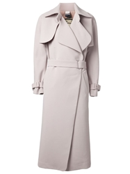By Malene Birger Long Trench Coat Nude And Neutrals