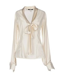 Guess By Marciano Shirts Blouses Women Ivory