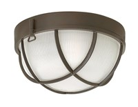 Hinkley Marina Outdoor Flush Mount Brown