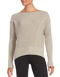 Ugg Sophia Drop Sleeved Knit Sweater Grey