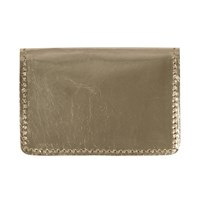 Sarah Baily Wallet Leopard And Gold