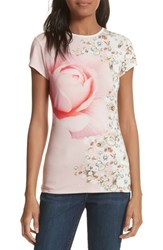 Ted Baker 'S London Blenheim Jewels Fitted Tee Natural