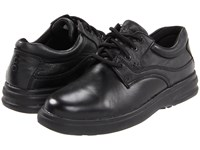 Hush Puppies Glen Black Leather Men's Lace Up Casual Shoes