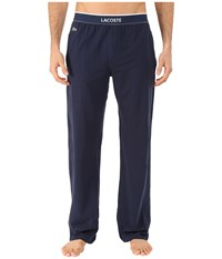 Lacoste Solid Pants Navy Men's Pajama