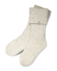 Ugg Shaye Rain Boot Socks Cream