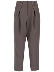 Olympiah Papa Cropped Trousers Grey
