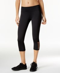 Ideology Capri Leggings Only At Macy's Noir