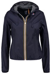 K Way Kway Summer Jacket Blue Depth
