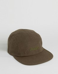 Brixton 5 Panel Cap Jolt Green