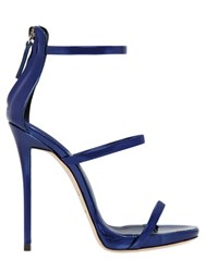 Giuseppe Zanotti 110Mm Metallic Leather Sandals