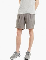 Kolor Grey Contrasting Waistband Shorts